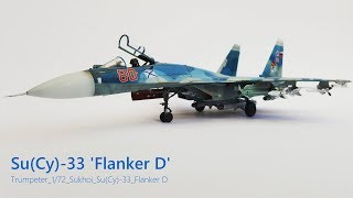 Trumpeter 1/72 Scale Sukhoi SU (Cy) 33 Sea Flanker D Paint