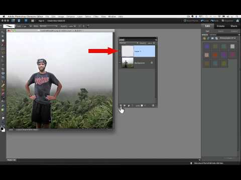 How To Use Layers In Oshop Elements