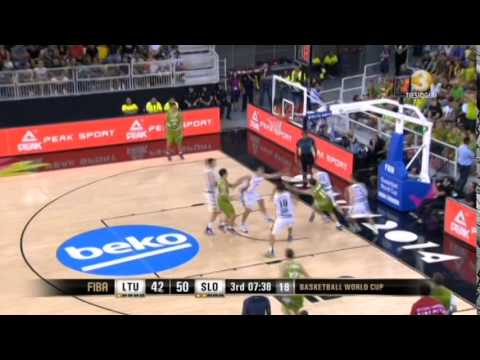 Lithuania Top 10 Plays Group Stage - FIBA World Cup 2014