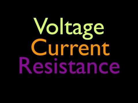 The Basics of Voltage, Current and Resistance
