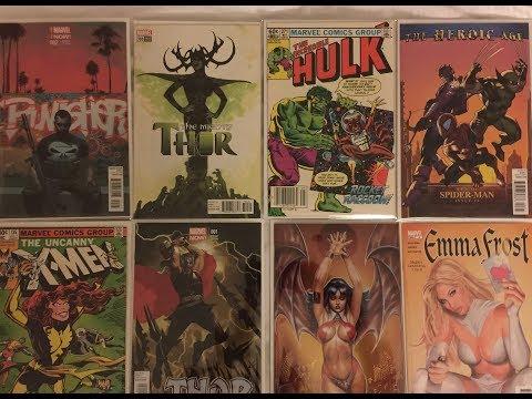 Comic Book Haul. Hot Variants, Hot 1st Appearances and Ragnorak and roll