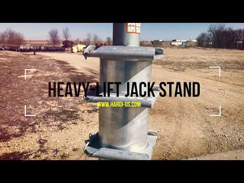 Heavy-Lift Jack Stand