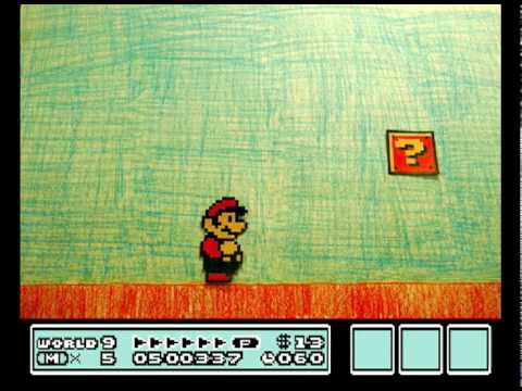 Mario Bros 3 - Stop Motion do Encanador