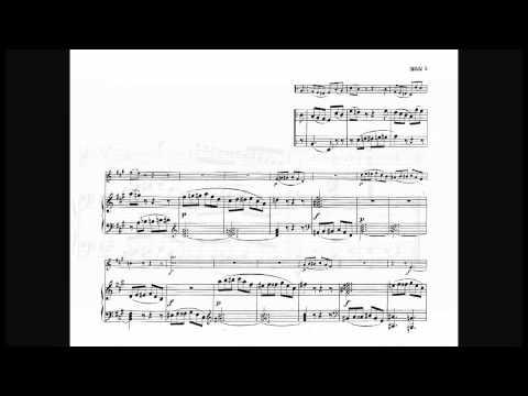 W.A.Mozart Sonata In A Major For Violin And Piano K 526 (1/3)