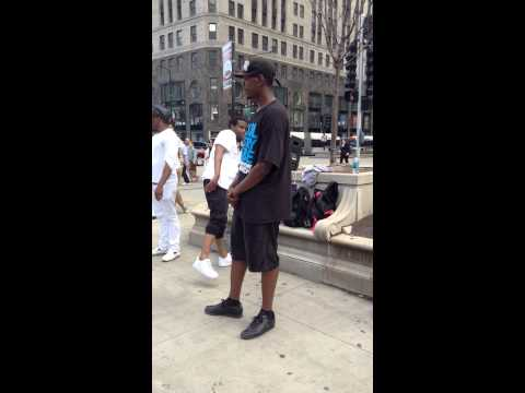 Black American dancers/acrobats