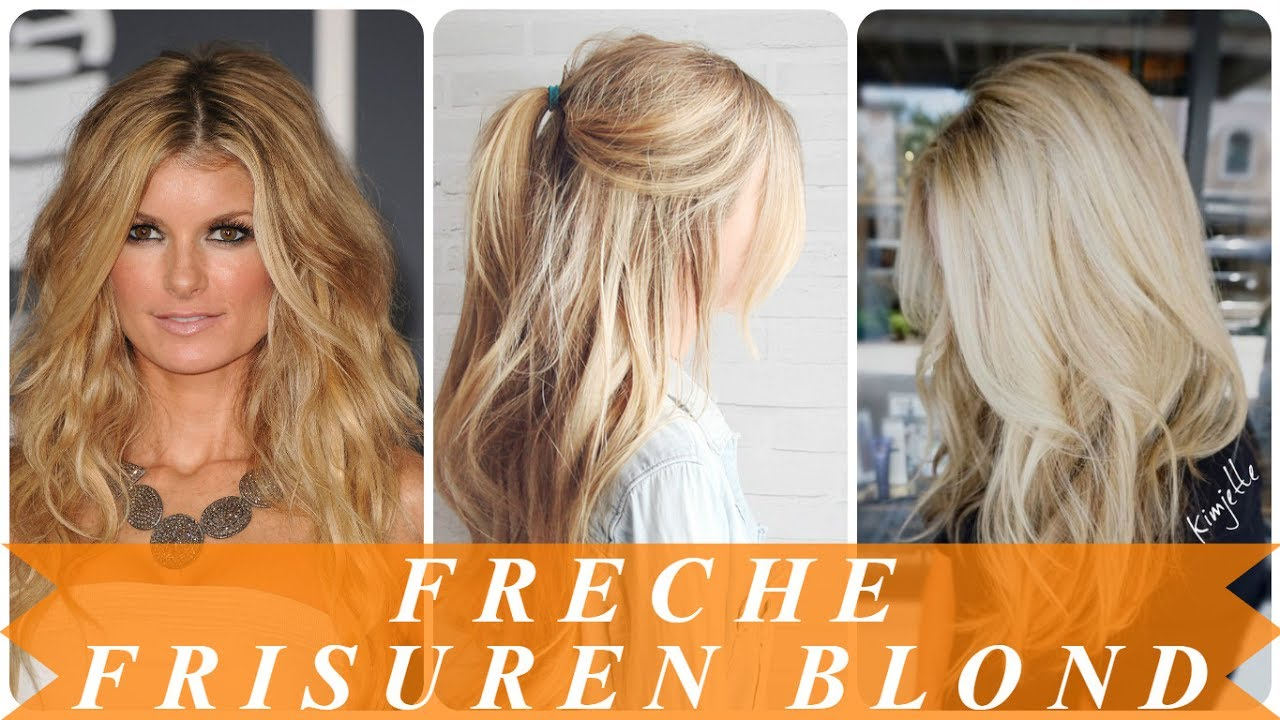 Freche Frisuren Blond Beste Frisurideen Fur Blondes Haar