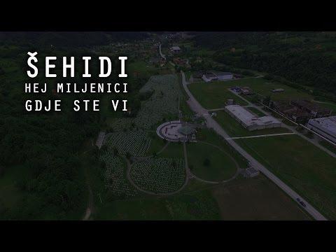 Memorijalni centar Potocari - Srebrenica - 2016 - Snimci iz zraka - Sehidi - Hafiz Aziz Alili