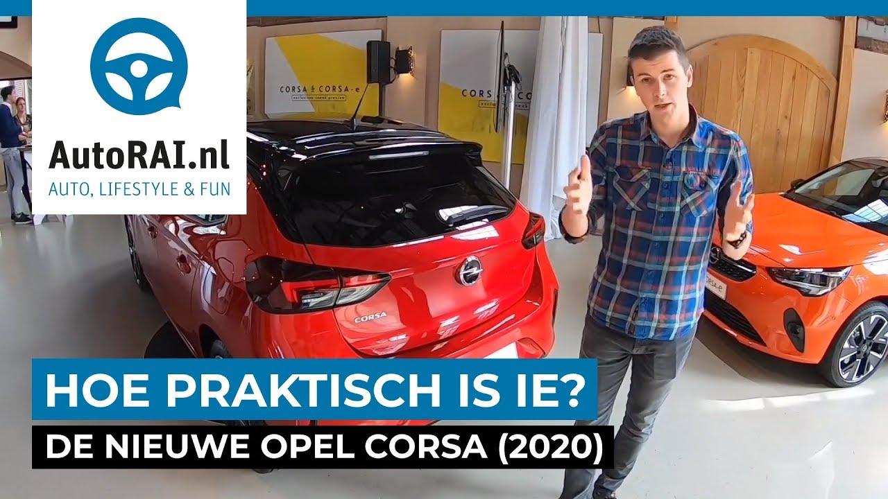 Zo Praktisch Is De Nieuwe Opel Corsa 2020 Autorai Tv
