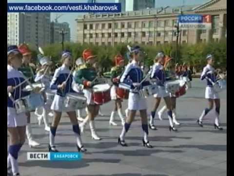 Вести-Хабаровск. Фестиваль барабанщиков