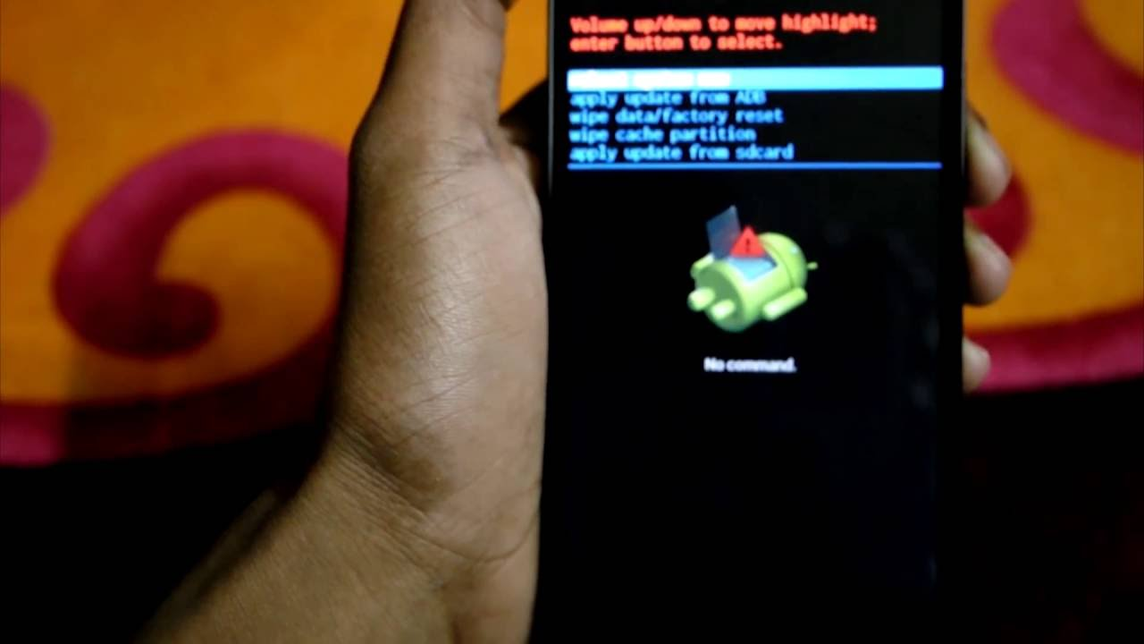 how to hard reset or factory format levono a6000 a6000 plus youtube