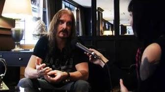 Dream Theater singer James LaBrie interviewed by Laura Vähähyyppä