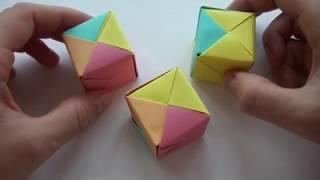 Как сделать Кубик из бумаги | Поделки из бумаги | Оригами | How to make a Paper Cube | Origami