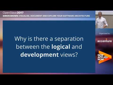 NEW IT - Simon Brown - Visualise, Document and Explore Your Software Architecture