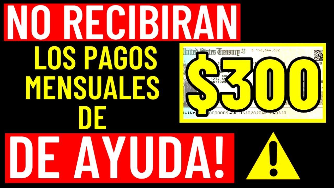 IMPORTANTE! Estas Personas NO RECIBIRAN Cheques de ESTÍMULO de Hasta $1100- Credito Tributario