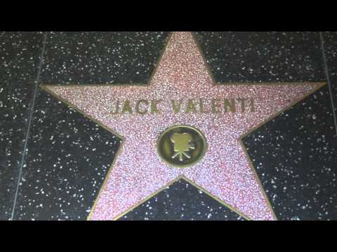 Jack Valenti Hollywood Walk Of Fame Star