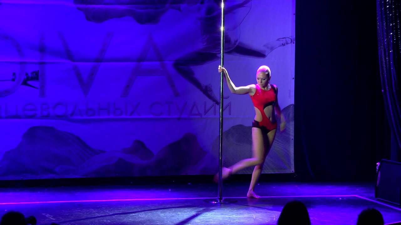 """Отчетный концерт Pole Dance в клубе """"Олимпия"""" 07.06.2015 года. Антонина Прозорова"""