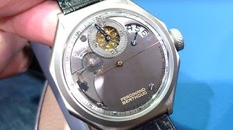 Chronométrie Ferdinand Berthoud FB1.R6 Regulator Dubai Watch Week Tourbillon Review
