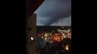 Tornado In Mobile, Alabama on Christmas Day
