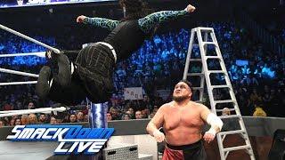 Download Video Jeff Hardy & Rusev vs. Shinsuke Nakamura & Samoa Joe: SmackDown LIVE, Dec. 11, 2018 MP3 3GP MP4