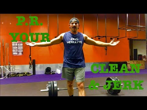 PR Your Clean and Jerk
