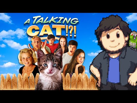 A Talking Cat! - JonTron