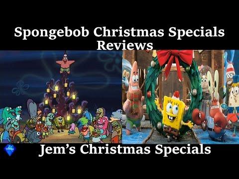 Review of the Spongebob Christmas Specials