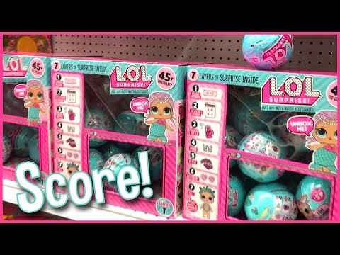 LOL Surprise Wave 2 Doll Score At Toys R Us | MommyAndGracieShow