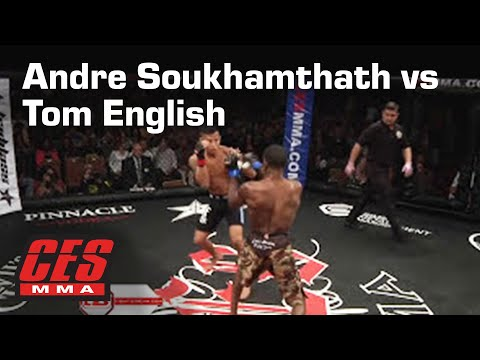 CES MMA XXVI: ANDRE SOUKHAMTHATH vs TOM ENGLISH