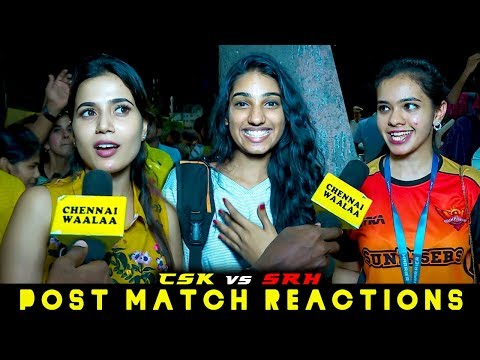 Thala Dhoni Enga Daaw?!? | Chennai Girls Love for MSD"