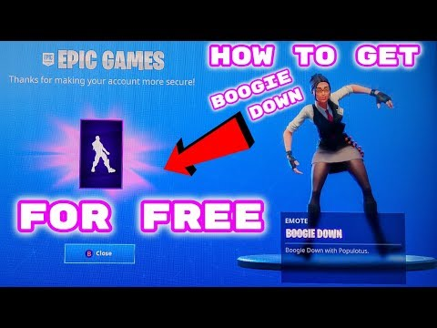FORTNITE How To Get Boogie Down Dance For Free!!!