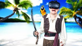Virtual Reality Pirate Ship! - Cutlass Gameplay - VR HTC Vive