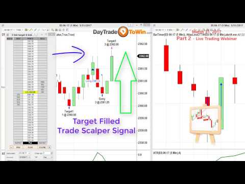 Scalp Trading  Part 2 - Start Right Now  and Learn a Simple Scalp Strategy that Works
