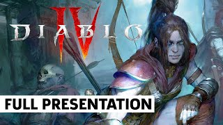 Diablo IV Rogue Breakdown and Open World Features | BlizzCon 2021