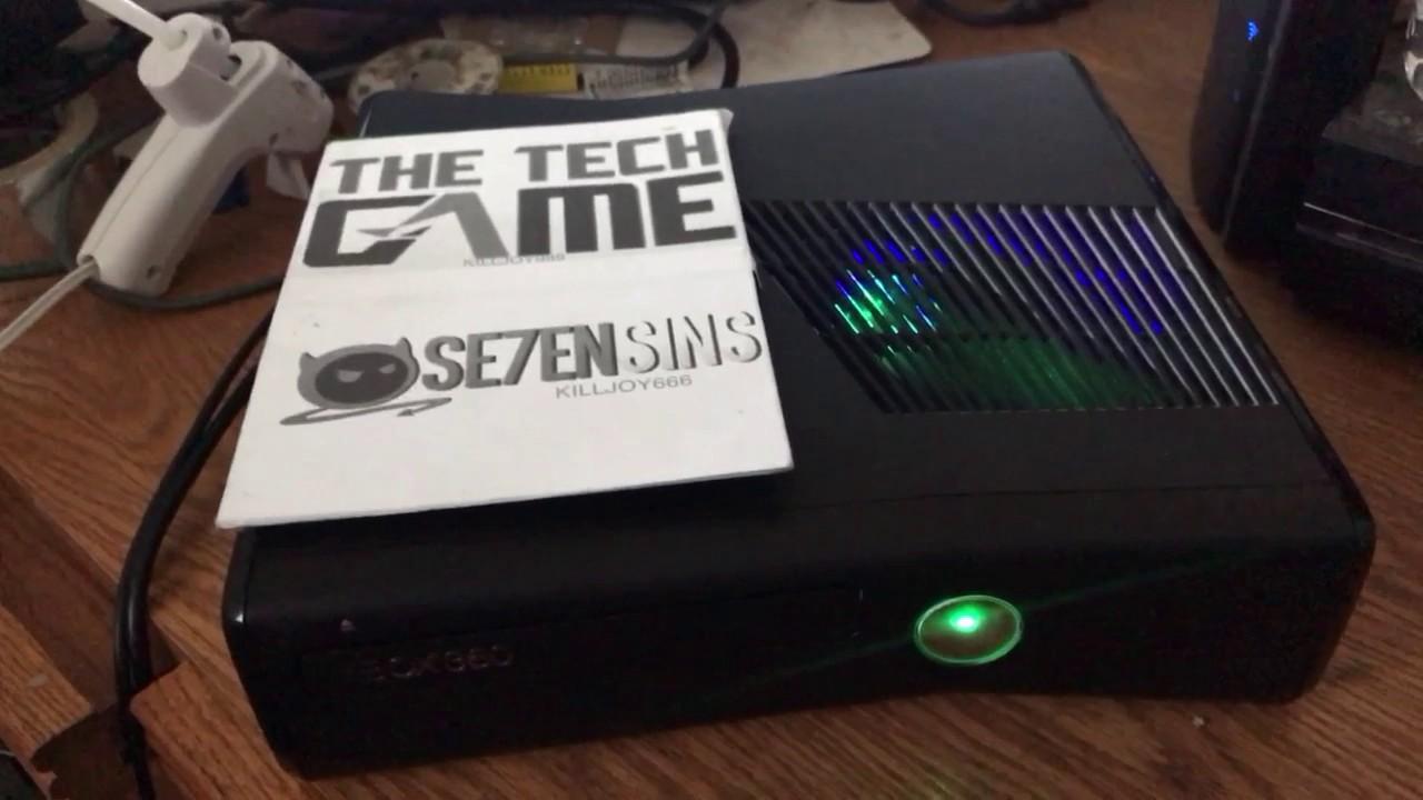 SRGH Xbox 360 Slim (Trinity) Proof Video