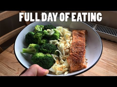 FULL DAY OF EATING ON A BODYBUILDING STUDENT BUDGET