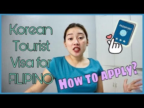How To Apply Korean Tourist Visa For Filipino | Chi Chua