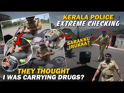 Day 2 - Police Didn't Believe Me 😠 - Rameshwaram To Kerala But Not Munnar 😅 | Enowaytion Plus