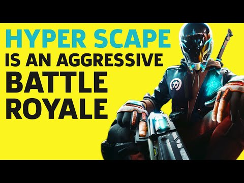 Hyper Scape's Battle Royale Systems Encourage Aggressive Play