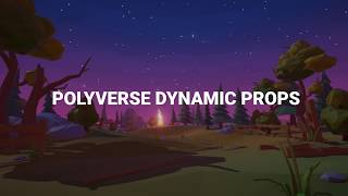 Polyverse Dynamic Props for Unity - Trailer
