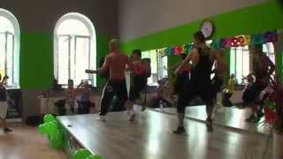 """Stefan Jakóbczyk, Zumba Master Class Bydgoszcz, Edalam - """"Usez les souliers""""."""
