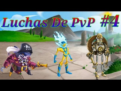 Luchas De PvP #4 - Monster Legends