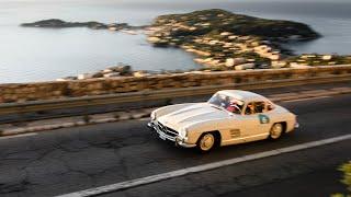 Racing my 1955 Mercedes 300SL   My first own Rally!   Nico Rosberg   Vlog