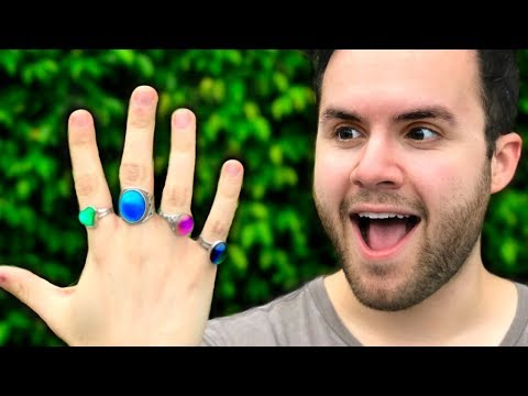 I WORE MOOD RINGS FOR A WEEK... (you wont believe what happened)