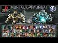 Mortal Kombat Deception Todos Fatalities Hara Kiris Death Traps GC PS2 mp3