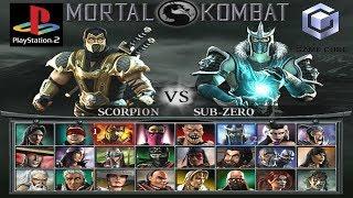 Mortal Kombat Deception Todos Fatalities | Hara-Kiris | Death Traps (GC) | (PS2)
