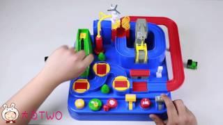 日本托马斯大冒险轨道玩具开箱试玩攻略