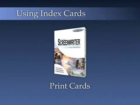 Using Index Cards Print Index Cards 3/3 - YouTube