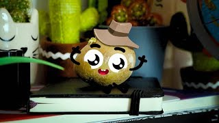 Doodles playing movies & TV shows! | Cute Food Doodles Compilation #36