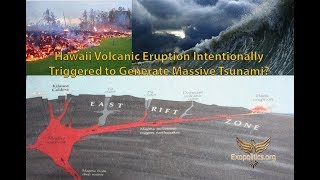 Hawaii Volcanic Eruption Intentionally Triggered to Generate Massive Tsunami?