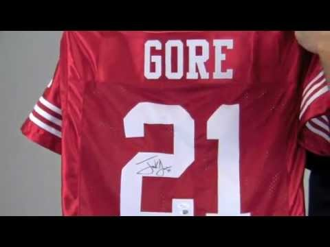 los angeles f66ed 6e968 Frank Gore Signed Jersey - Autographed, Authentic NFL Jerseys